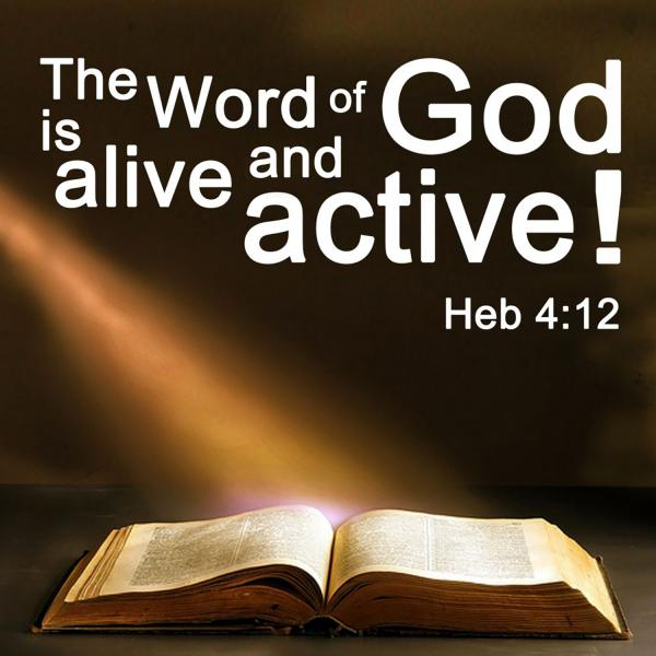 Image result for God's Word is living and active